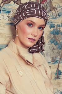Tula turban - Graphic Pearl