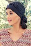 Mila turban - sort