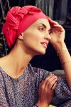 Sapphire turban sæt - paradise pink