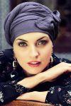 Sapphire turban sæt - crown blue