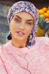 Sapphire turban sæt - Moroccan Vibes
