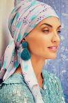 Sapphire turban sæt - parrot passion