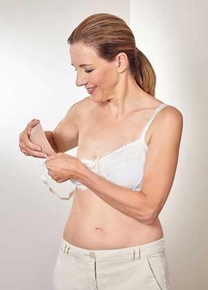 tilpasning af brystproteser til kvinder opereret af brystkræft