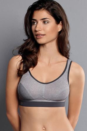 sportsbh til brystprotese frontlukning